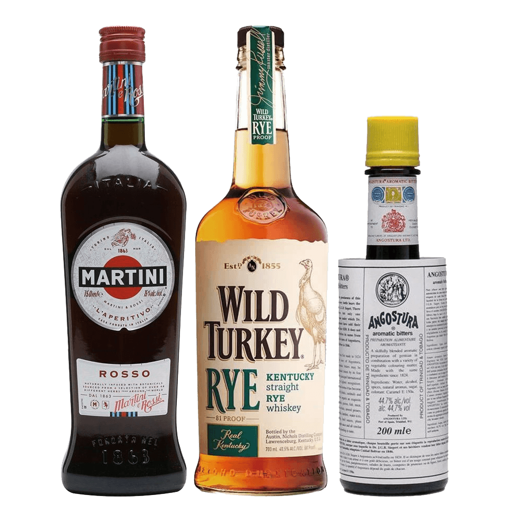 Manhattan Cocktail Pack Boozy Ph Online Liquor Delivery