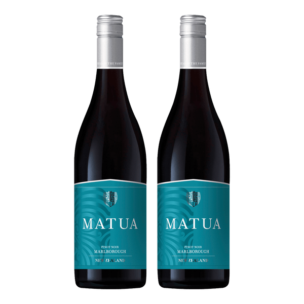 Matua Valley Marlborough Pinot Noir 750ml Bundle of 2