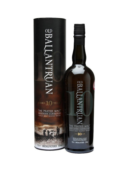 Old Ballantruan The Peated Single Malt Scotch Whisky 10yo 700ml