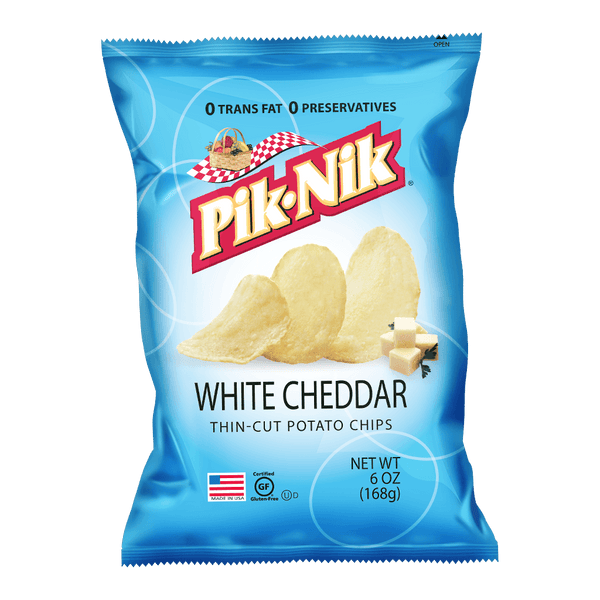 PIK-NIK White Cheddar 6oz - Boozy.ph