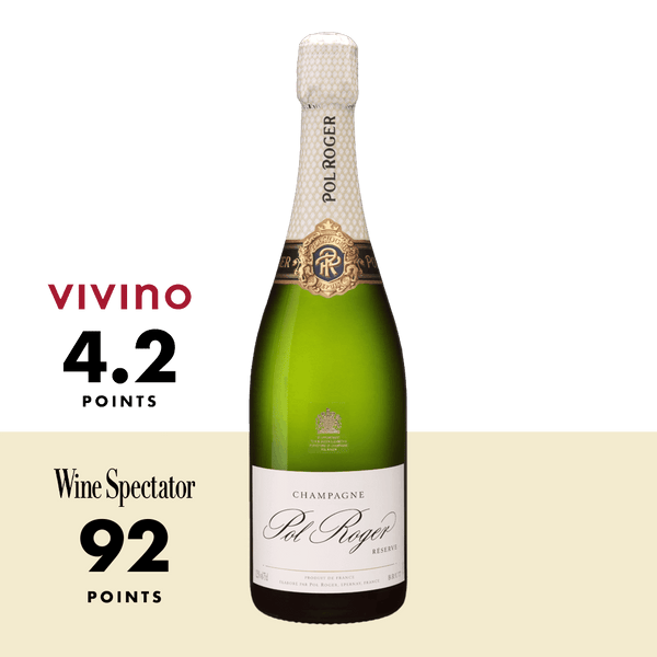 Pol Roger Brut Reserve NV 750ml - Boozy.ph