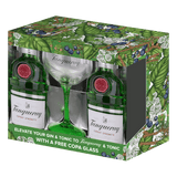 Tanqueray London Dry Gin 750ml with Free Copa Glass