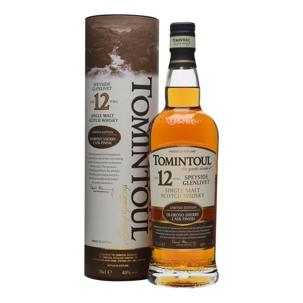 Tomintoul 12yo 700ml - Boozy.ph