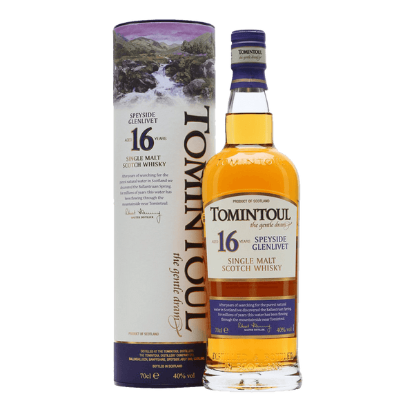 Tomintoul 16yo 700ml - Boozy.ph