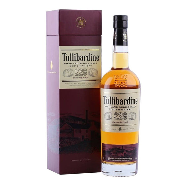 Tullibardine 228 Burgundy Finish 700ml - Boozy.ph