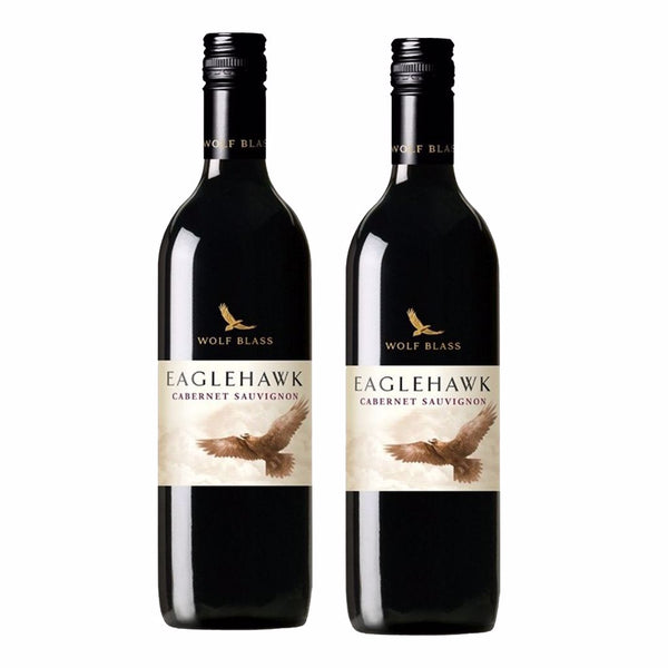 Wolf Blass Eagle Hawk Cabernet Sauvignon Bundle of 2