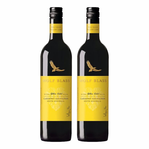 Wolf Blass Yellow Label Cabernet Sauvignon Bundle of 2