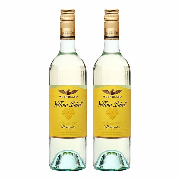 Wolf Blass Yellow Label Moscato Bundle of 2