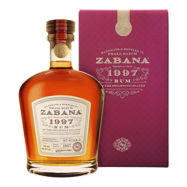 Zabana Small Batch 1997 700ml - Boozy.ph