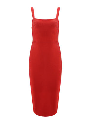 ROMA - red bandage dress