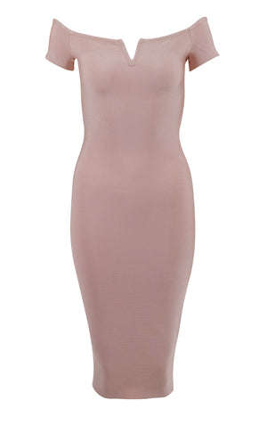 SORAYA - pastel bandage dress