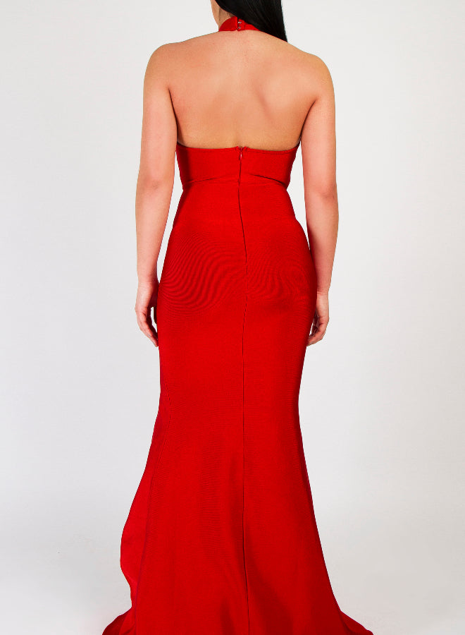GALIA red bandage dress