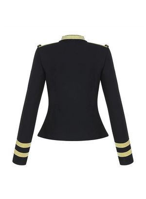 MILI JACKET - Black Bandage Jacket