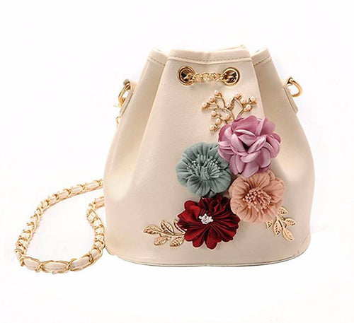 bohemian boho-chic bucket bag mini shoulder bag my luv family
