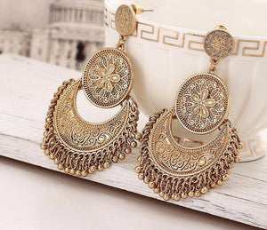 Bohemia Fashion Tassel Ear Rings Vintage My LUV Family