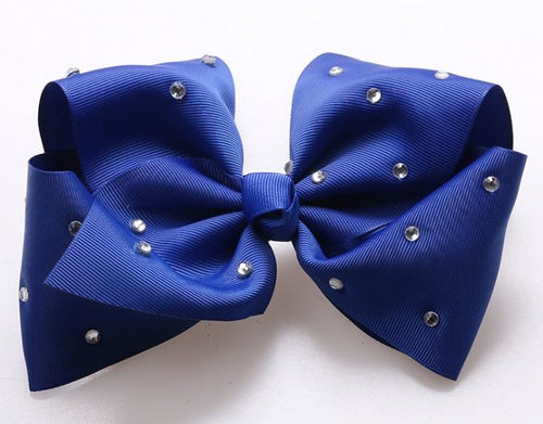 Jojo Siwa Dark Blue Diamanté Hair Bow