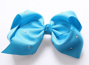 Jojo Siwa Sky Blue Diamanté Hair Bow - 20cm