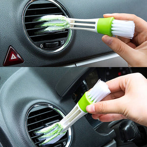 Car Air Vent / Keyboard Cleaning Brush - Dust Cleaning Tools (2pcs)
