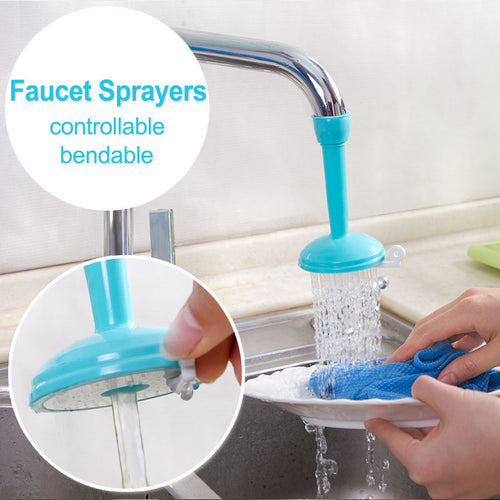 Creative Water Saving Faucet Adjustable Tap Sprayer