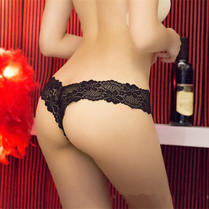 Newest 2017 G String Sexy Underwear Lace Panties (S-XL) - 4 pcs/set