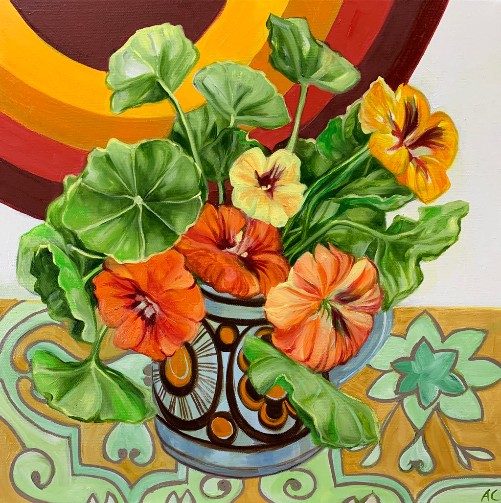 Retro Pop Nasturtiums and the 70's favourites