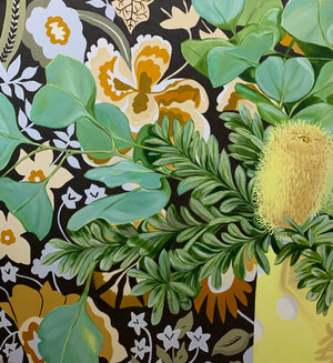 Banksias, Dollar Gum and the Vintage Sanderson