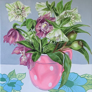 Commission piece - The Holy Grail and the Hellebores