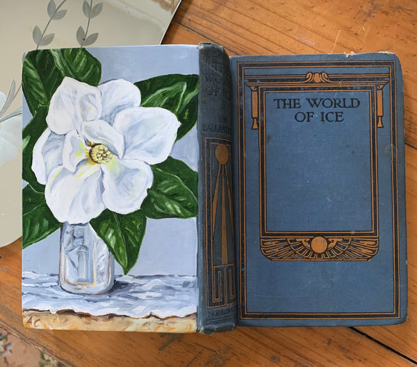 Magnolia & The World of Ice - Original Oil Book Painting