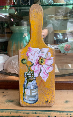 Windflower Light Pink Paddle painting