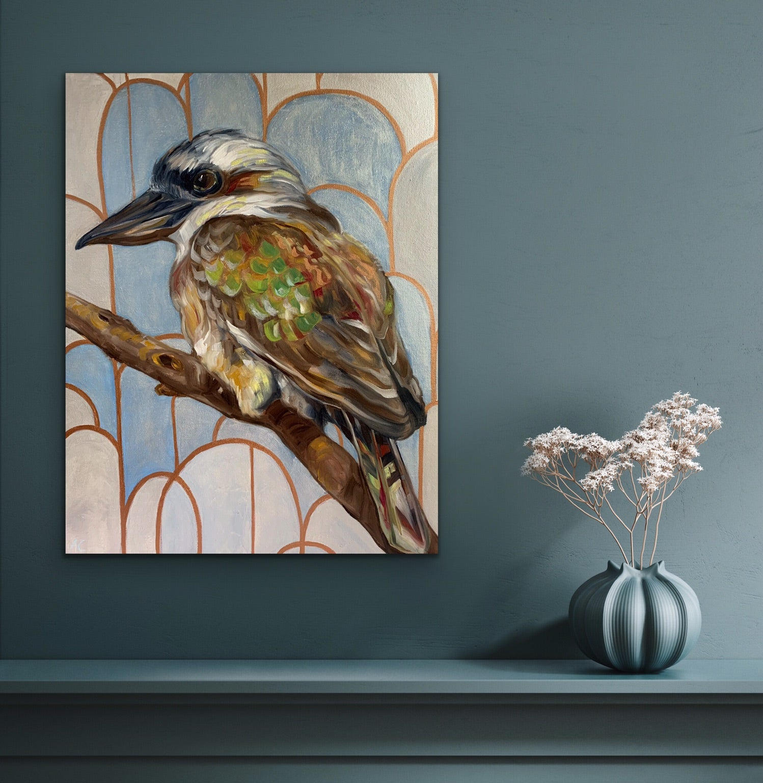 Silver Geo and Kookaburra Sits