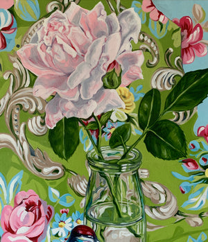 Shabby Circa and the Rose (Vintage Fabric Series)
