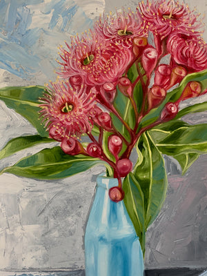 Study - Gum Blossom and the Blue Bottle