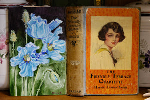 Harriet and the Blue Poppies - Oil Book Painting