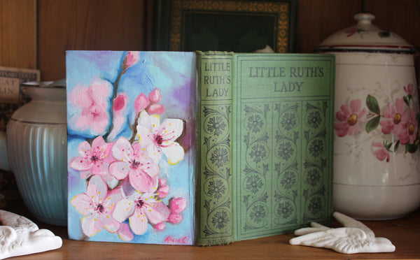Little Ruth and the Apple Blossom - Oil Book Painting
