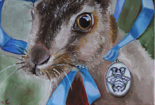 The Hare and the Bee Locket
