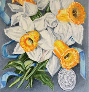 Faith, Hope & Charity Daffodils - The Locket Series