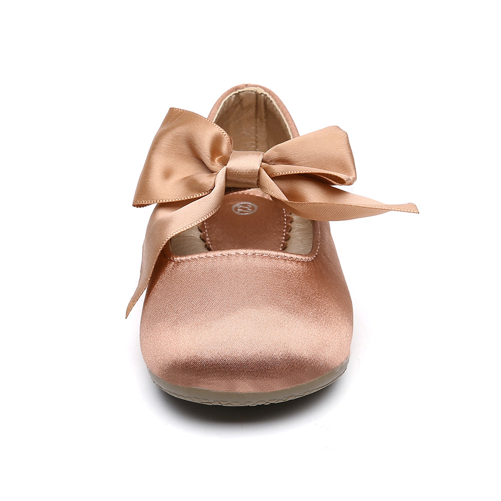 ❤️Rolayllove❤️ Girls Ballet Mary Jane Flat Shoes Mary Jane Shoes Bow-Knot Slip-on Party School Dress Ballet Flat Toddler//Little Kid