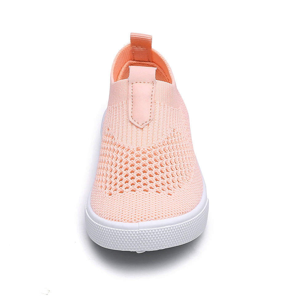 Chiximaxu Kids Slip on Sneakers Breathable Flat Shoes for Running Walking Cycling Toddler//Little Kid