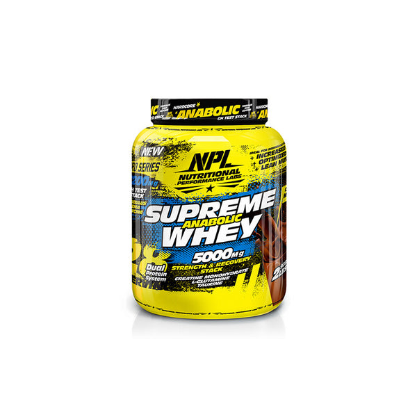 NPL Supreme Anabolic Whey | online supplement store