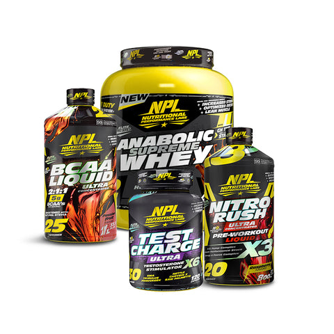 Anabolic Muscle Building Stack