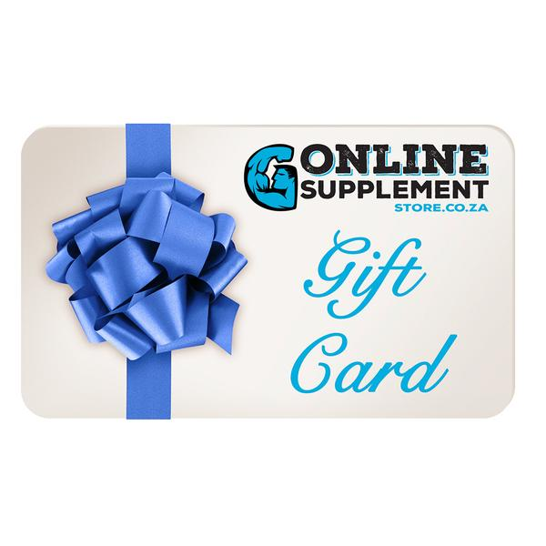 Digital Gift Card | online supplement store