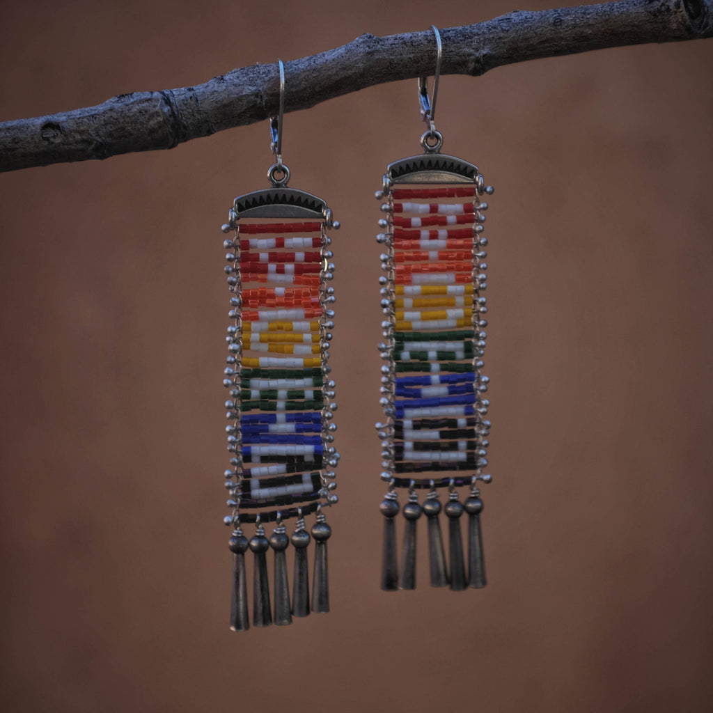 VOTE Earrings in Rainbow