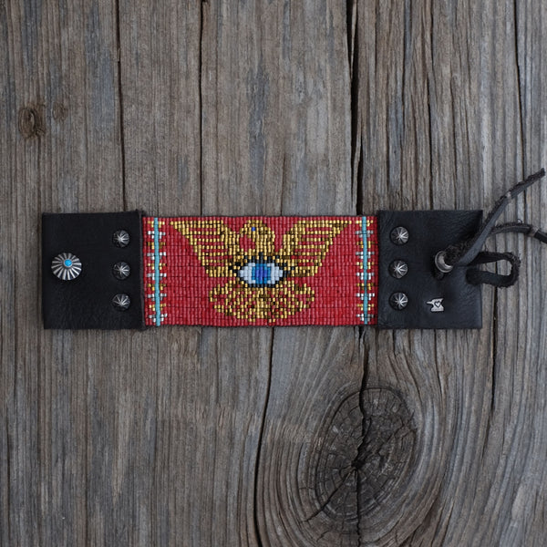 Ojo de Águila Bracelet in Red