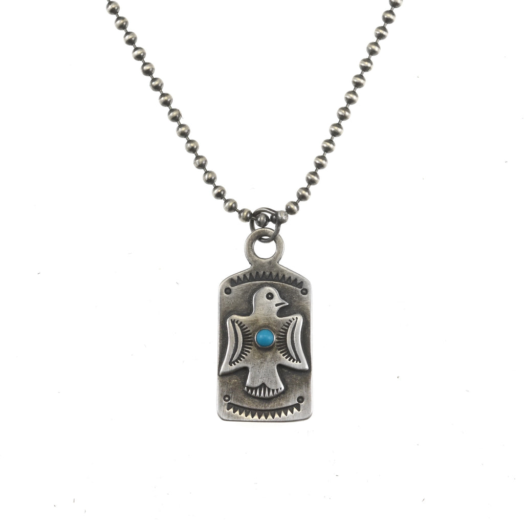 Thunderbird Tag Necklace