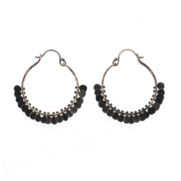 Large Paillette Hoops