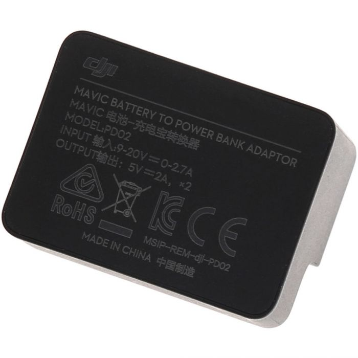 DJI Mavic Pro Battery to Power Bank Adaptor