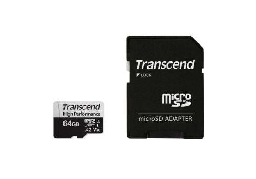 TRANSCEND 330S 64GB MICRO SD HIGH PERFORMANCE UHS-I