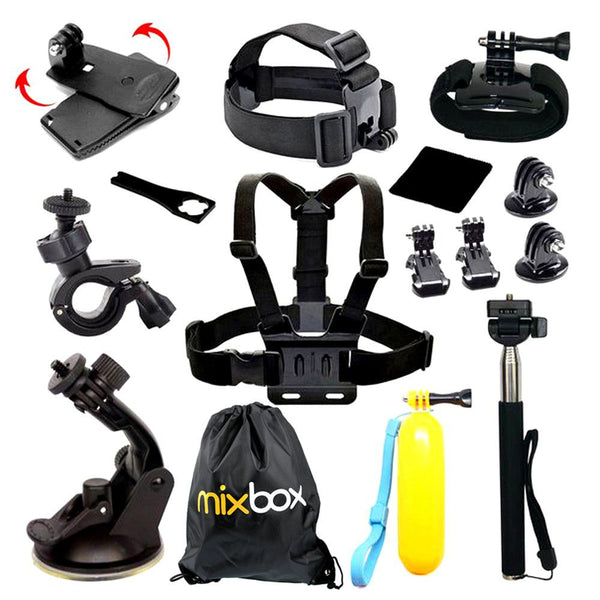 MIX BOX 8-in-1 Accessories Kit for GoPro hero and DJI Osmo Action