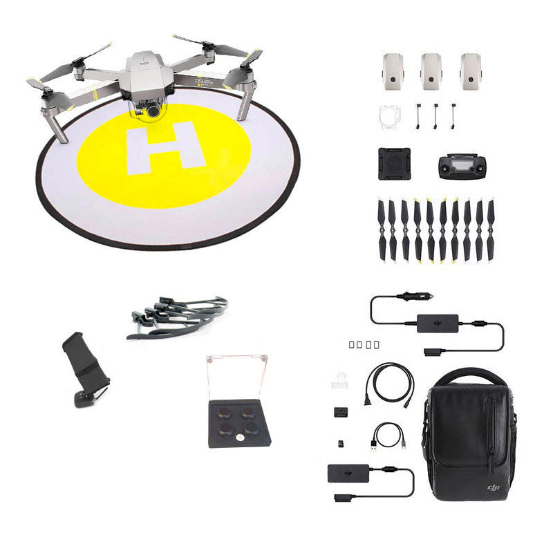 DJI Mavic Pro Platinum Flymore Refurb PLUS Combo – Incl Full 12 month DJI-SA Warranty