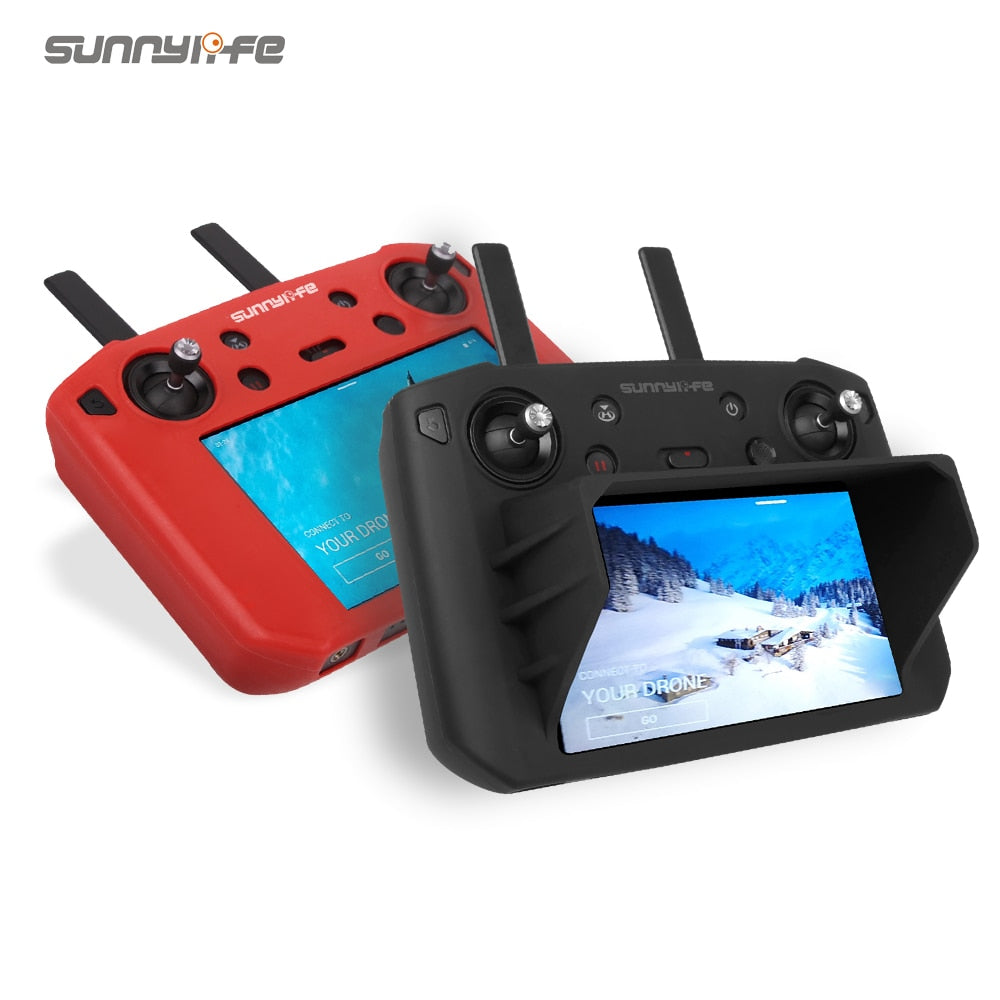 Protective Cover Silicone Case with Sunhood for DJI MAVIC 2 Smart Controller